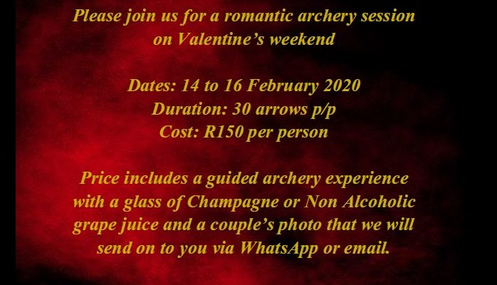 Cupids Arrow – Valentines Archery