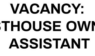Guesthouse Owners Assistant